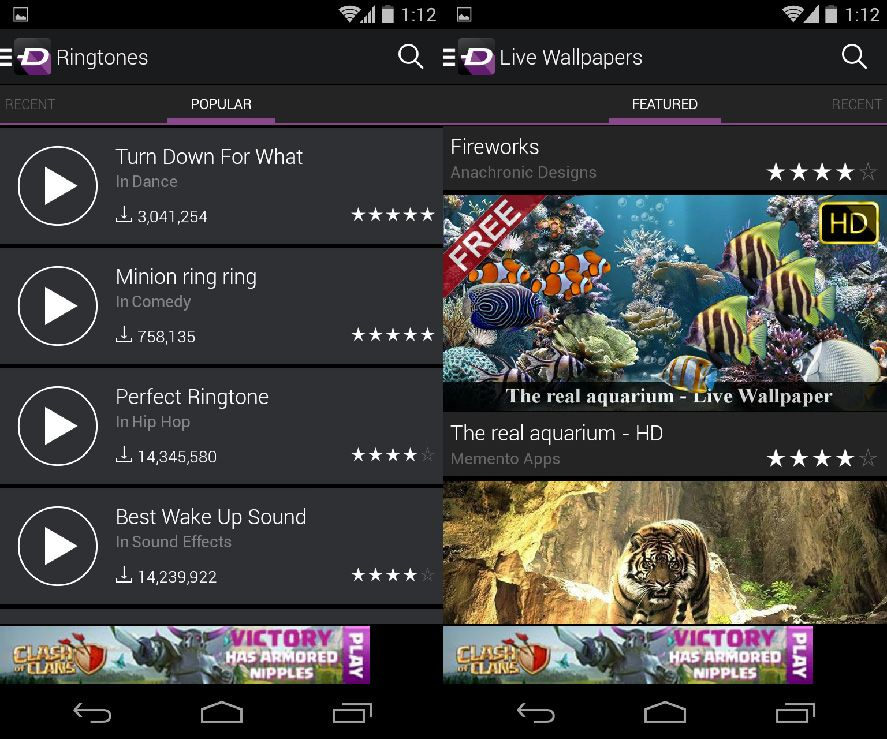 la carte ringtones and wallpapers for android from zedge