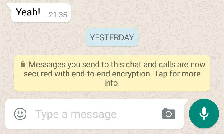 How safe are your WhatsApp messages?