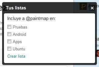 2011 08 12 09 35 27 Tutorial: Como crear listas en Twitter