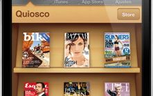 un kiosko de revistas en tu iphone