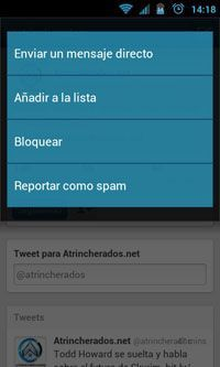 20111212 141836 ¿Dónde están los mensajes privados en el nuevo Twitter?