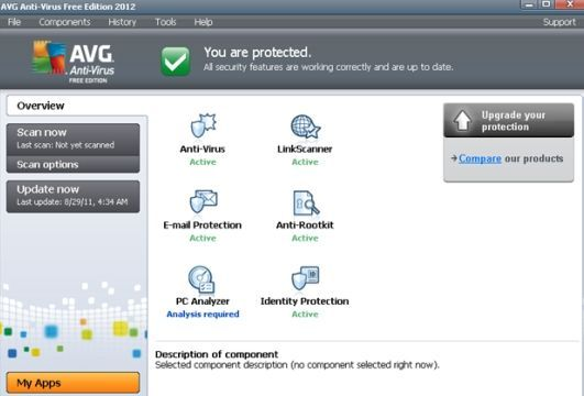AVG Antivirus Free Edition 2012