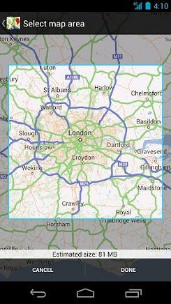 Actualización de los Google Maps para Android