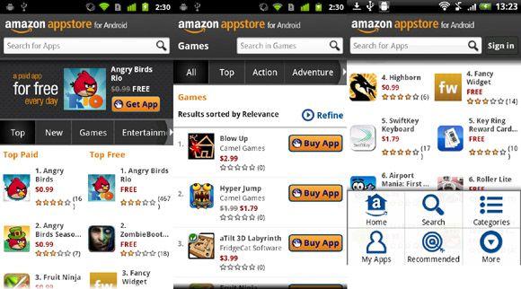 Amazon App Store1 Amazon App Store ya está disponible en España