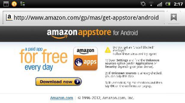 Amazon AppStore web Amazon regala una aplicación Android de pago al día en su propio bazar