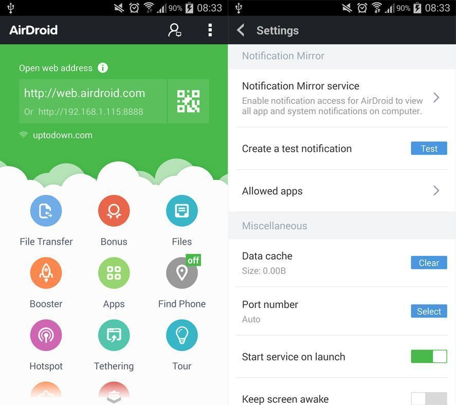 Android app en Leave your Android like new without losing information