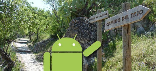 Android rural Cinco aplicaciones Android para salir de excursión