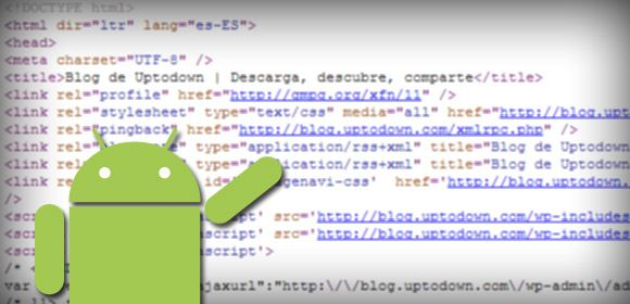 Android web cabecera Android Apps for Web Development