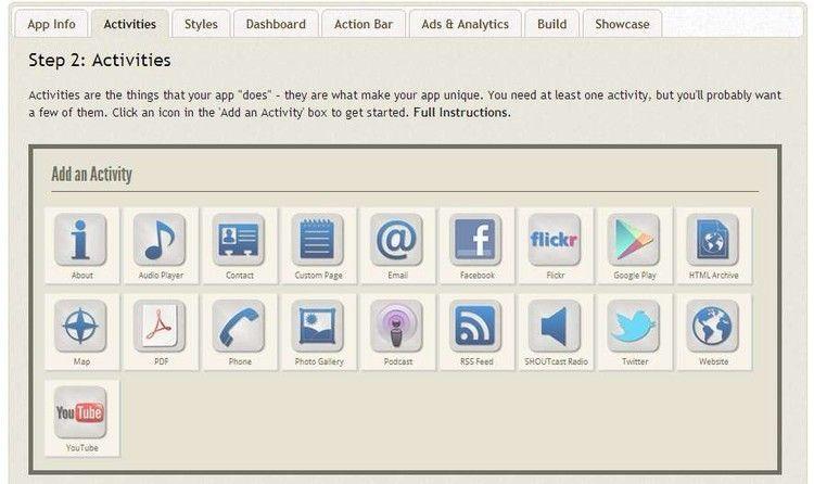 Andromo social Crea tus propias aplicaciones para Android con Andromo