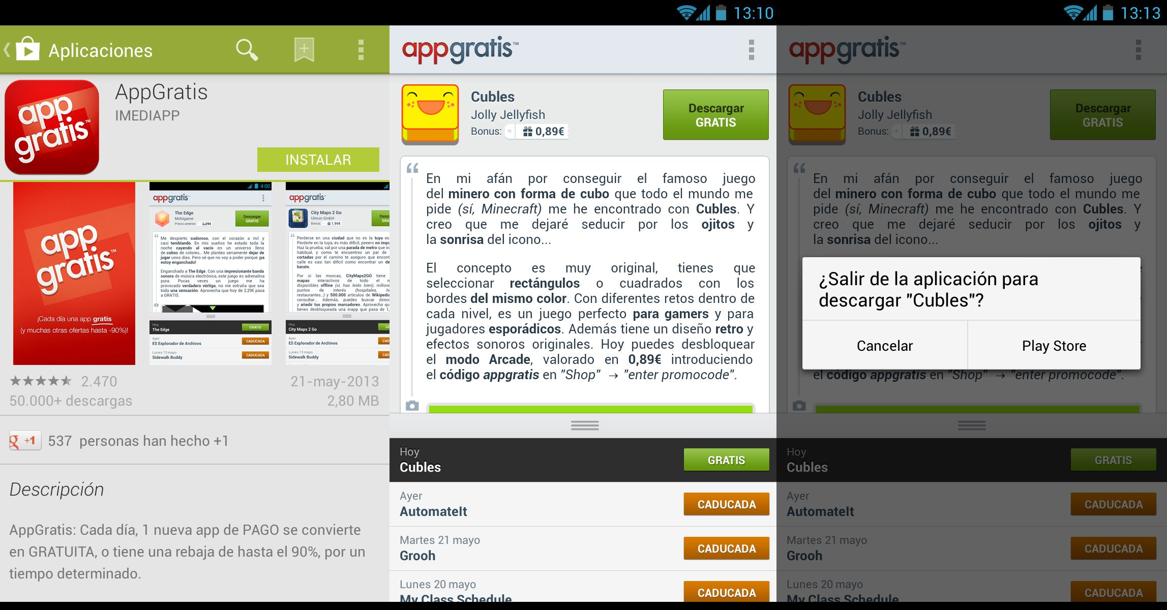 Appgratis Android