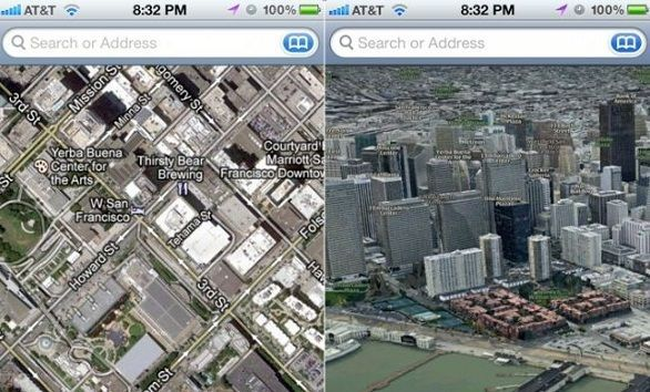 Apple prepara su propia aplicación de mapas y le dice adiós a Google Maps