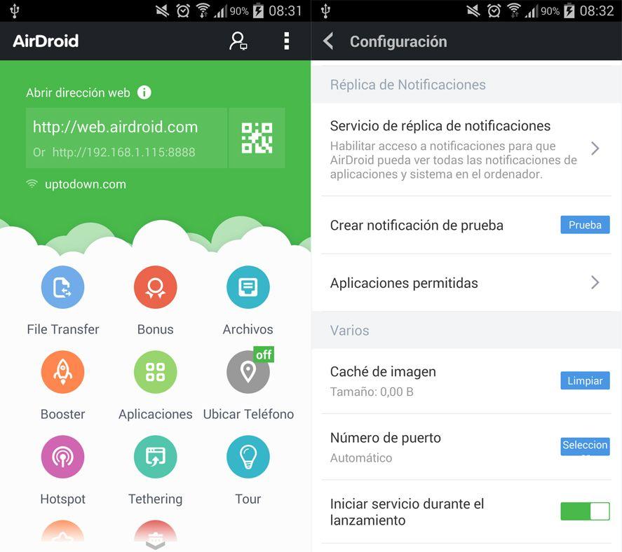 Aridroid app