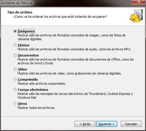 Asistente de Recuva 2011 11 02 12 14 05 Cómo recuperar archivos borrados del disco duro