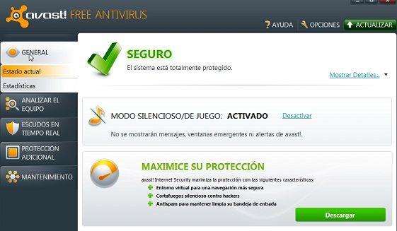 Avast! Free Edition 6.0.1364