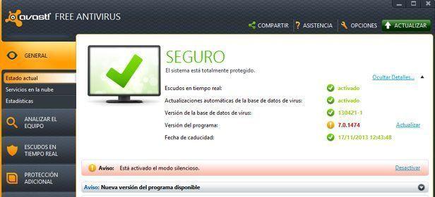 Avast mejor antivirus