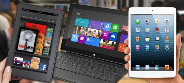 Batalla tablet La guerra por el dominio en el mercado de los tablets ha comenzado