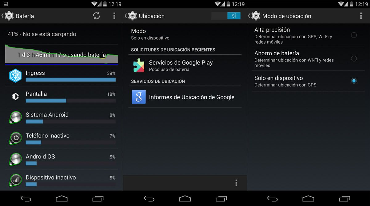 Bateria-Android-GPS