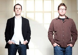 Biz Stone y Ev Williams