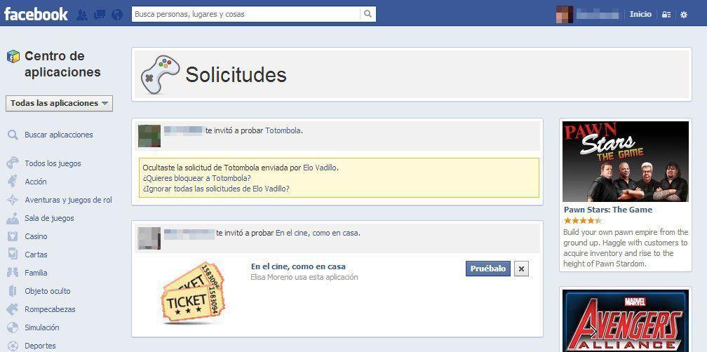 Bloquear aplicación Facebook