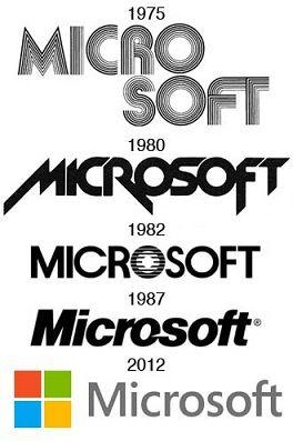 Cambios en el logo de Microsoft
