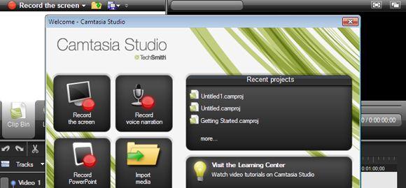 Camtasia Studio 7 Graba lo que sucede en tu escritorio con Camtasia Studio