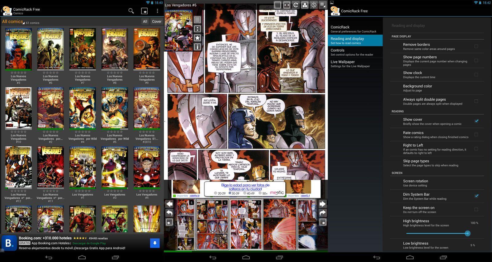 Comicrack free screenshots