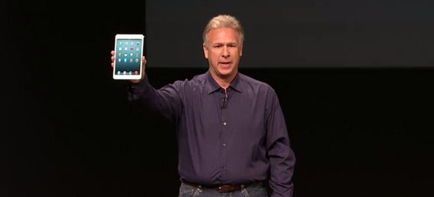 Conferencia iPad mini cabecera Apple presenta su nueva gama de productos