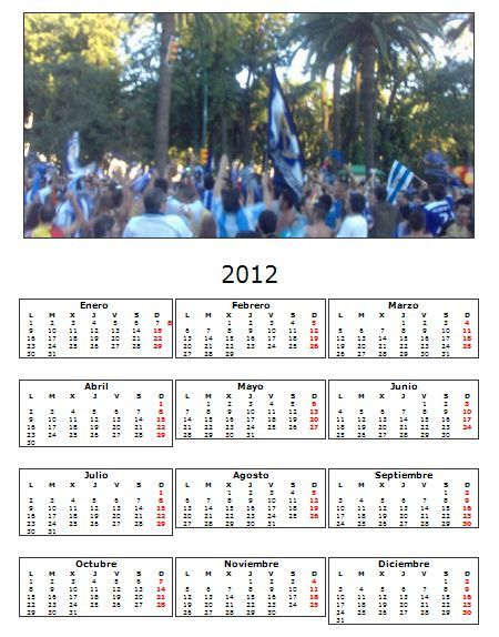 Crea Calendarios 2009 2008 personalizados Google Chrome 2011 12 13 10 04 25 Cómo hacer tu propio calendario para año nuevo