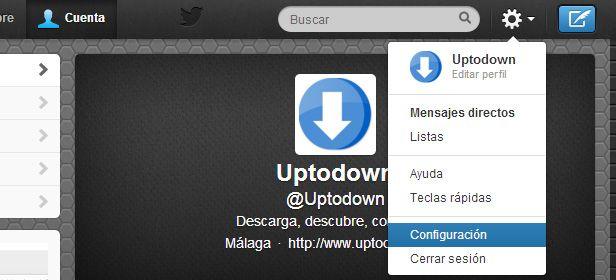 Descargar historial Twitter 1