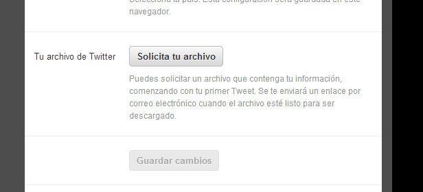 Descargar historial Twitter 2