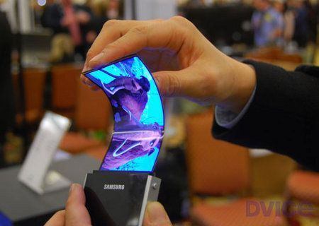 Dispositivo flexible de Samsung