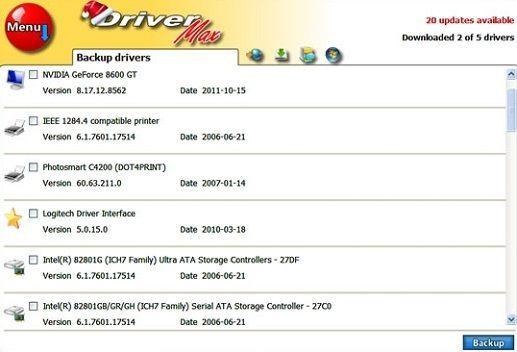 DriverMax 6.13, la última versión de un recomendable programa para respaldar los drivers