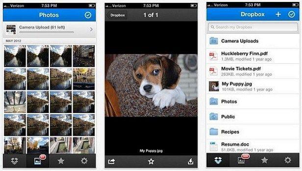 Dropbox 2.0 para iOS
