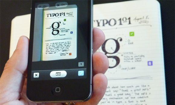Evernote Moleskine 2 Pasando tus anotaciones escritas a digital: Evernote Smart y otros métodos gratuitos