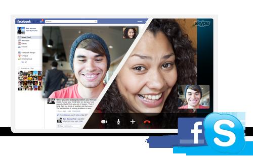 Facebook Blog Pic1 Skype permite hacer videollamadas en Facebook