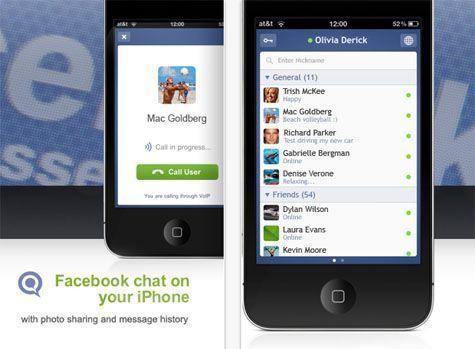 Facebook Messenger disponible para iOS, Android y Blackberry, otra manera de enviar mensajes desde el móvil