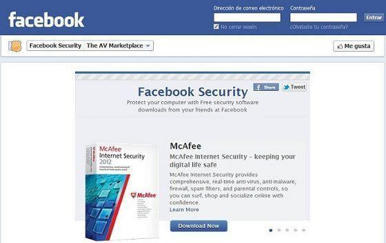 Facebook ofrece antivirus gratuitos en su Antivirus Marketplace