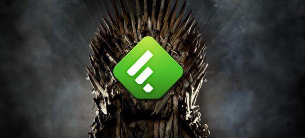 Feedly trono