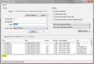 FileSeek v2.1.3 CUsersUptodownDropboxProgramacionphpAA Librerias 2011 11 24 14 19 24 Fileseek: el programa perfecto para buscar texto dentro de un archivo en Windows