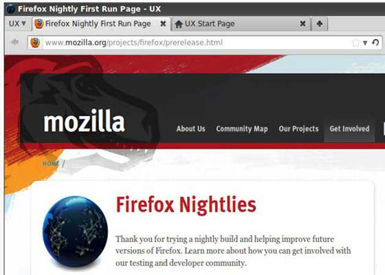 Firefox9 5 Firefox 9, primer vistazo