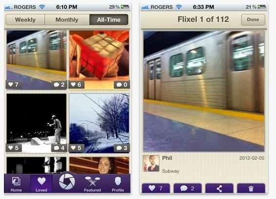 Flixel, una aplicación para iPhone que permite darle movimiento a las fotografías