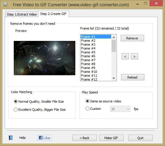 Free Video to GIF Converter 2
