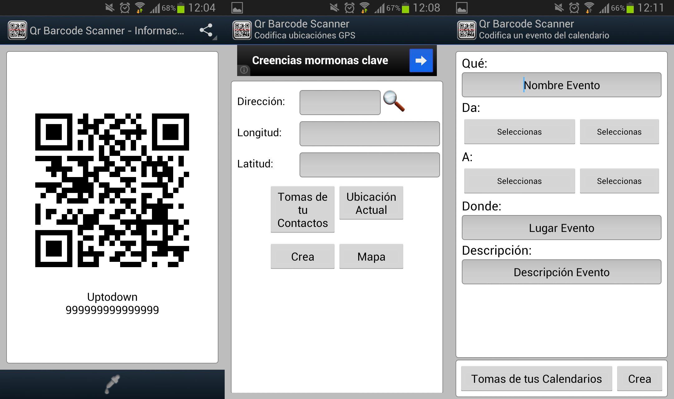 Funciones Barcode