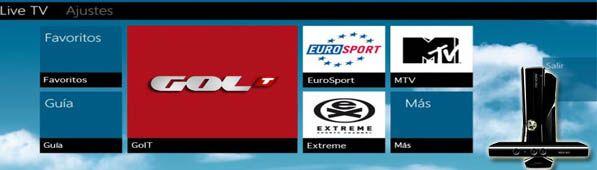 GolTgratis Gol Televisión gratis en XBOX Live hasta el 31 de Enero