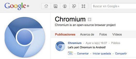Google Chrome para Android cada día mas cerca