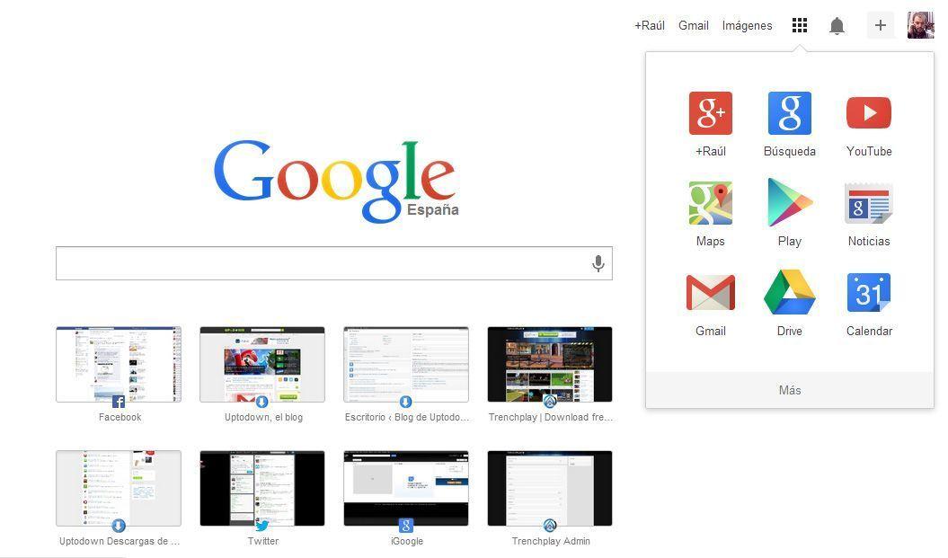 Google Chrome rediseño