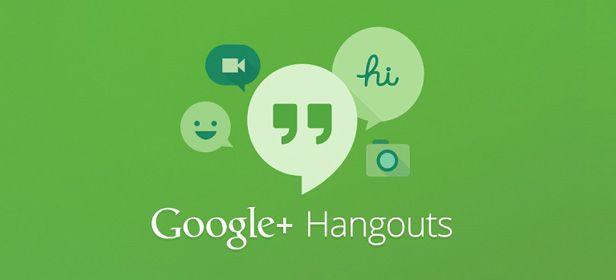 Google Hangouts cabecera