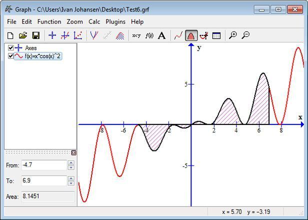 Graph screenshot