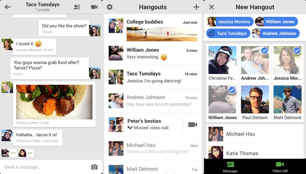 Hangouts v1.3