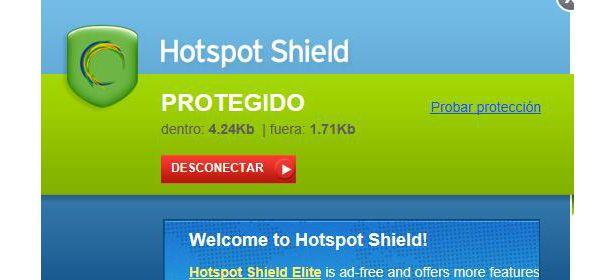 Hotspot protegido
